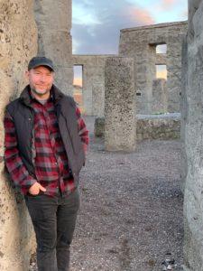 James Reling at Stonehenge